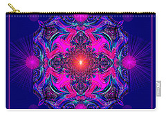 1028 -  A Mandala Purple And Pink 2017 Carry-all Pouch