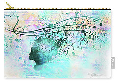 10846 Melodic Dreams Carry-all Pouch by Pamela Williams