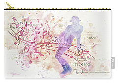 10849 All That Jazz Carry-all Pouch by Pamela Williams