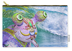 10859 Aliens In Paradise Carry-all Pouch by Pamela Williams