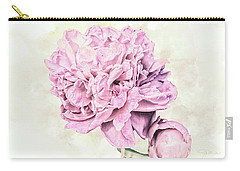 10861 Spring Peony Carry-all Pouch by Pamela Williams