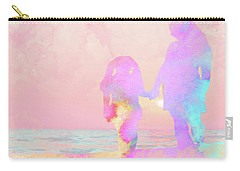 10876 Sunset With Mom Carry-all Pouch by Pamela Williams