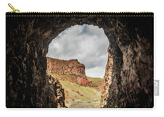 10888 Lake Owyhee Road Tunnel Carry-all Pouch by Pamela Williams