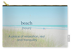 10967 Beach Tranquility Carry-all Pouch
