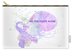 10969 No One Fights Alone Carry-all Pouch