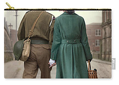 1940s Couple Carry-all Pouch by Lee Avison
