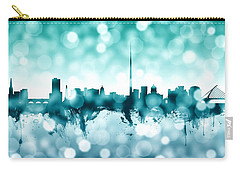 Dublin Ireland Skyline Carry-all Pouch