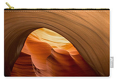 Lower Antelope Canyon Navajo Tribal Park #12 Carry-all Pouch