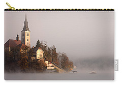 Misty Lake Bled Carry-all Pouch