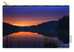 Carry-all Pouch featuring the photograph Winter Dawn by Thomas R Fletcher