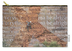 11059 Everything Will Be Alright Carry-all Pouch