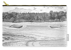 11th Hole - Trump National Golf Club Carry-all Pouch by Lawrence Tripoli