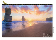 12 Apostles With Marshmallow Skies    Og Carry-all Pouch