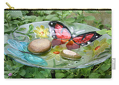 Carry-all Pouch featuring the photograph Cypress Gardens by Ellen Tully