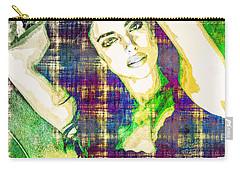 Irina Shayk Carry-all Pouch by Svelby Art