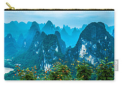 Karst Mountains Landscape Carry-all Pouch