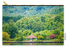 Scenery Around Lake Lure North Carolina Carry-all Pouch by Alex Grichenko