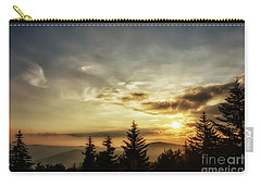 Summer Solstice Sunrise Carry-all Pouch by Thomas R Fletcher