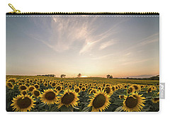 Sunflower Sunset Carry-all Pouch