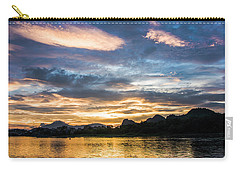 Sunrise Scenery In The Morning Carry-all Pouch