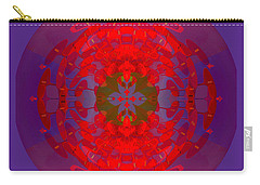 1217 -   Mandala Red 2017 Carry-all Pouch
