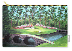 12th Hole At Augusta National Carry-all Pouch