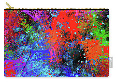 Abstract Composition Carry-all Pouch