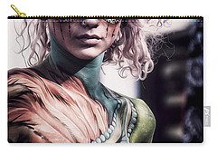 Bodypainting Carry-all Pouch by Traven Milovich