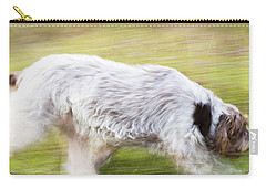 Brown Roan Italian Spinone Dog Carry-all Pouch