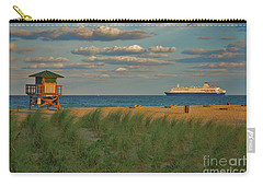 Carry-all Pouch featuring the photograph 13- Cruising In Paradise by Joseph Keane