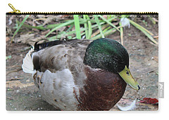 Duck Carry-all Pouch by Suhas Tavkar