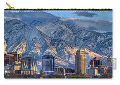 Salt Lake City Skyline Carry-all Pouch