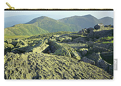 Carry-all Pouch featuring the photograph 135706 View From Mt. Washington Nh by Ed Cooper Photography