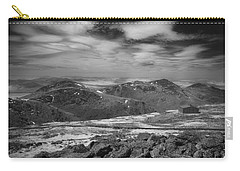Carry-all Pouch featuring the photograph 135764 Presidential Range Nh Infrared by Ed Cooper Photography