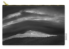Carry-all Pouch featuring the photograph 135765 Mt. Washington Lenticular Cloud Nh by Ed Cooper Photography