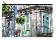 1358 French Quarter Balconies Carry-all Pouch