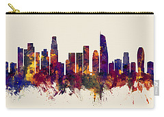 Los Angeles California Skyline Carry-all Pouch