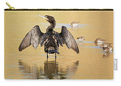 Neotropic Cormorant Carry-all Pouch by Tam Ryan
