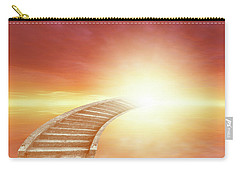 Carry-all Pouch featuring the photograph Stairway To Heaven by Les Cunliffe