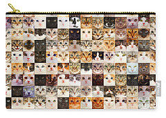 140 Random Cats Carry-all Pouch