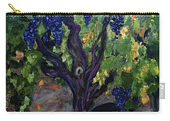 147 Year Old Vines Carry-all Pouch by Donna Walsh
