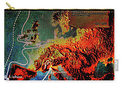 1478 Even Columbus Sailed Along The Wild Atlantic Way. Carry-all Pouch