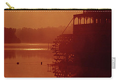 Carry-all Pouch featuring the photograph 148223 Mississippi River Sternwheeler  Ga by Ed Cooper Photography