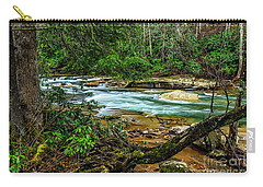 Carry-all Pouch featuring the photograph Back Fork Of Elk River by Thomas R Fletcher