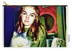 15 Past 10, July 1972 Carry-all Pouch by Susan Lafleur