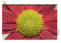 Red Flower Carry-all Pouch by Elvira Ladocki