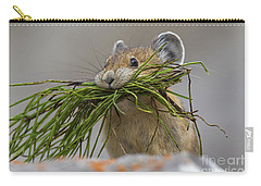 Pika With A Mouthful  Carry-all Pouch
