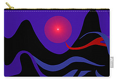 1536 - Red Mountain Sun -  2017 Carry-all Pouch