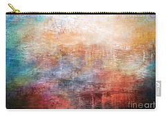 15b Abstract Sunrise Digital Landscape Painting Carry-all Pouch