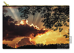 Carry-all Pouch featuring the photograph Appalachian Sunset by Thomas R Fletcher